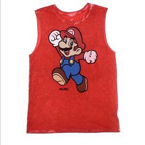 Tops - 🍄🍄🍄⚡️ Super Mario Tank Top ⚡️ Size Small ⚡️